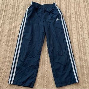 Adidas windbreaker track pants boys